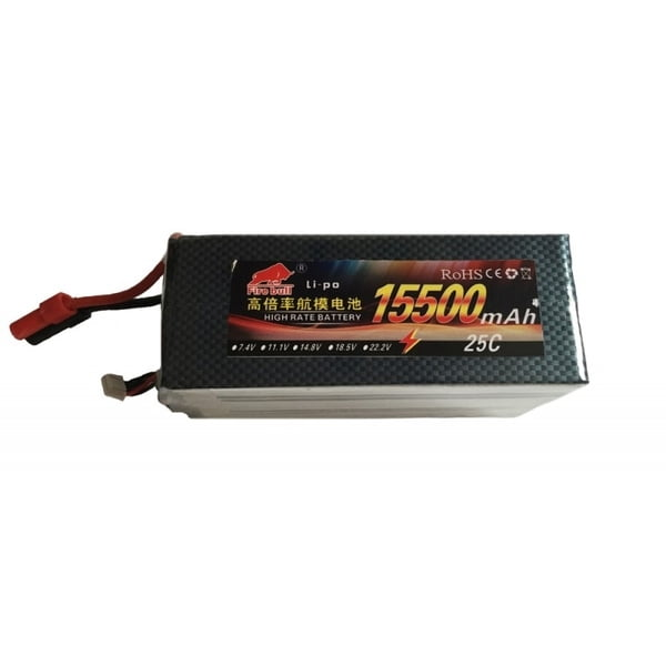 Fire Bull Li-pol 22.2V 15500mAh, 30C, 6s2p, AS150
